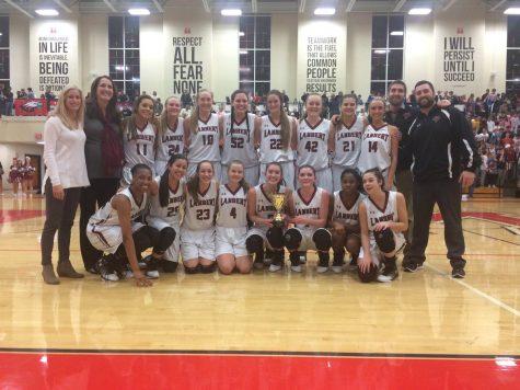 Lambert basketball splits region championships