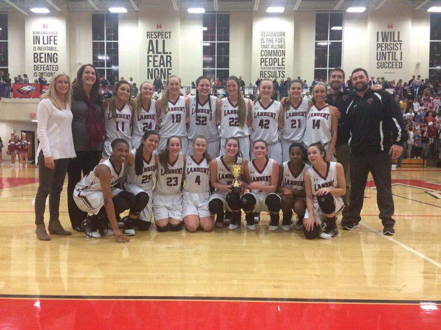 Lambert girls take home region 5-7AAAAAAA championship