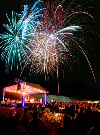 In the name of Lambert and South Forsyth high schools, Martin Marietta's Concert in the Quarry will feature live performances, great dining, and a spectacular firework show.
