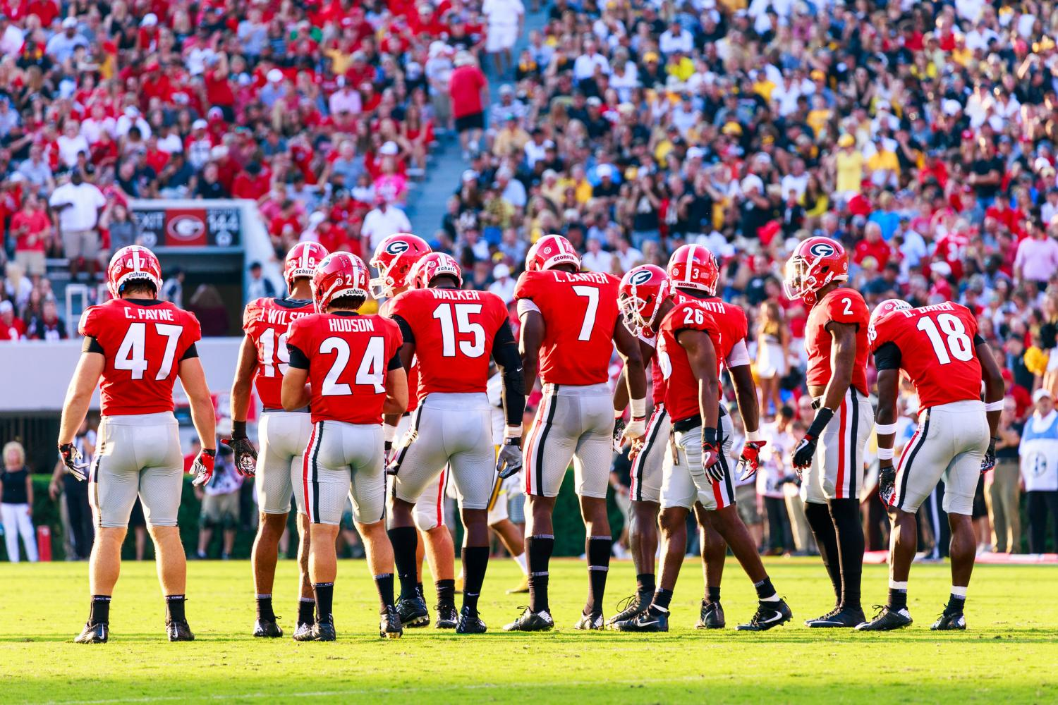 The Bulldogs defense hope to rise to the occasion against Mississippi State. Photo by: Brandon Sweeney
