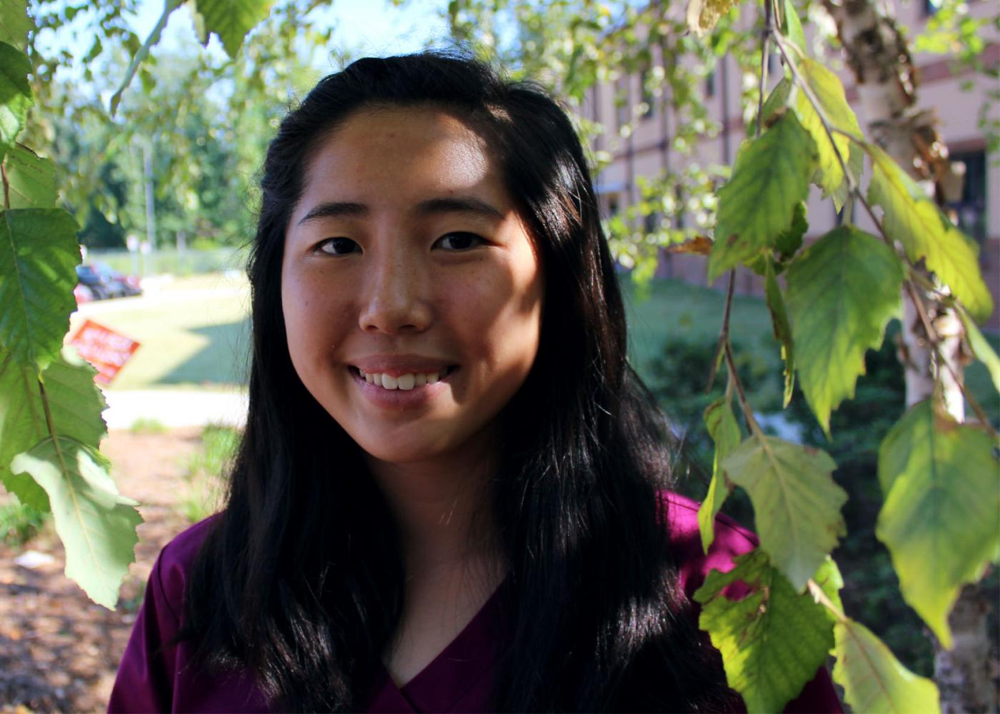 Sophomore Megan Hong speaks about how she balances soccer, iGem, viola, and homework.