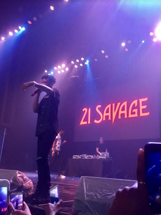 21 Savage Concert at the Tabernacle on August 21.
