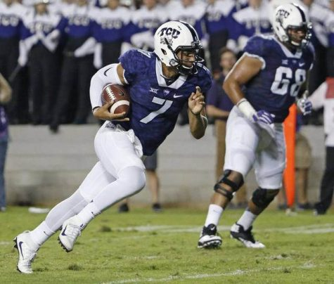 QB Kenny Hill will lead the Horned Frogs against the Mountaineers