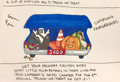 A cup of nihilism #6.5: trunk-or-treat