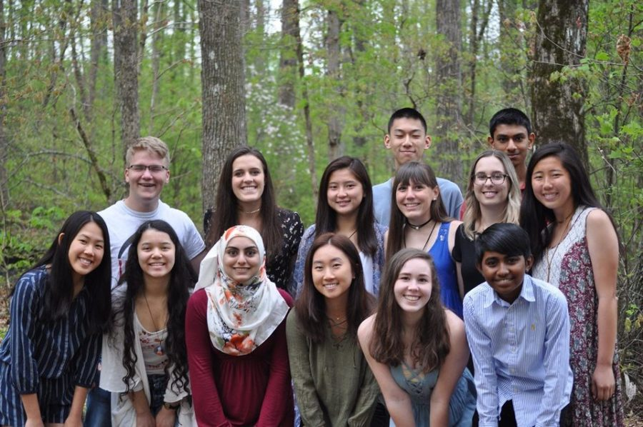 Featured above is the Lambert iGEM team. Consisting of fourteen members, this close-knit group is expanding society's understanding of the universe while bettering the world in intricate ways.