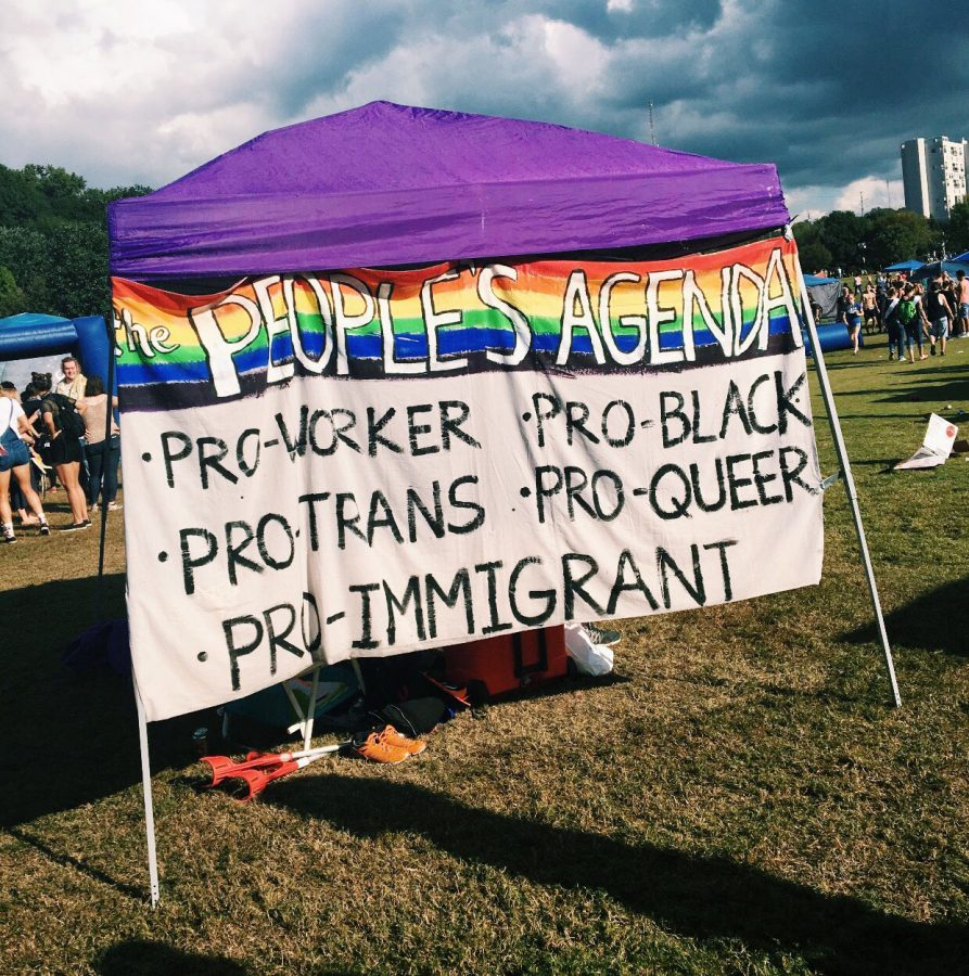 Hundreds of people gathered in Piedmont Park to celebrate Atlanta's acceptance of its notorious LGBTQ+ community. Although the highlight of the focus was about the LGBTQ+ community, Atlanta's pride had no issues in promulgating its support of many minorities.