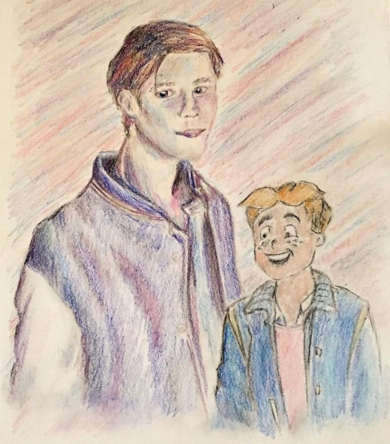 Current iteration of Archie as seen in the TV show versus his original iteration in the Comics.  Comic Archie is much more optimistic and lighthearted than the current TV one.