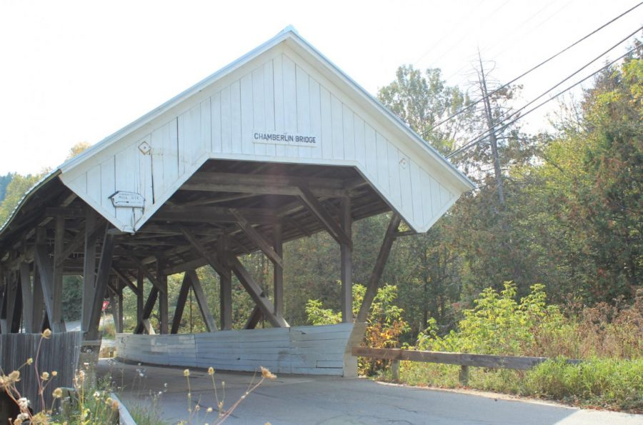 There+are+many+covered+bridges+throughout+New+England.+They+were+historically+built+to+protect+the+wooden+support+beams+from+harsh+winter+weather.