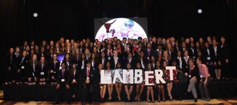 Lambert HOSA takes on the Fall Leadership Conference in Atlanta