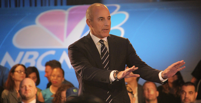 Matt Lauer and Charlie Rose fired for sexual harassment claims