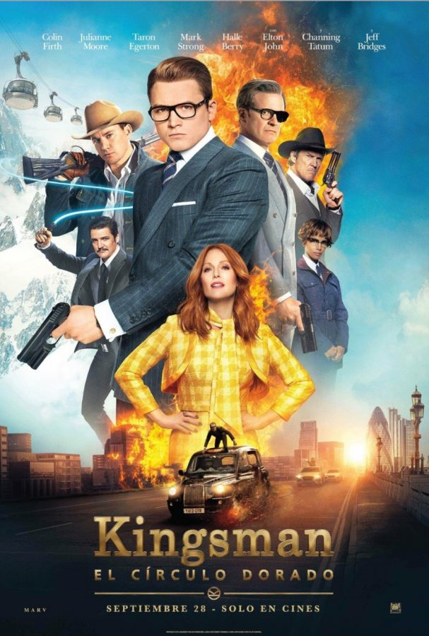 Kinsman: The Golden Circle was a great movie, almost as good as the first Kingsman movie.