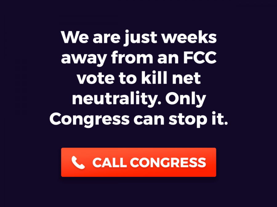 The fight for net neutrality Header