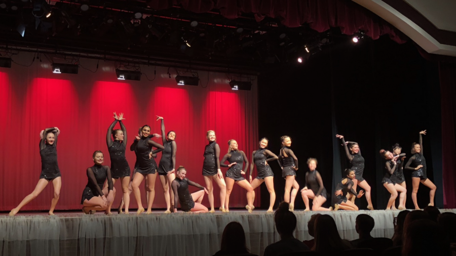 The Lambert Dance Company ends their show with the eye-catching dance,