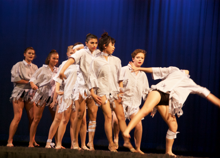 Losing my Breath, choreographed by sophomore Grace Anderson, portrayed a great deal of emotions and showed the audience how a story through dance.