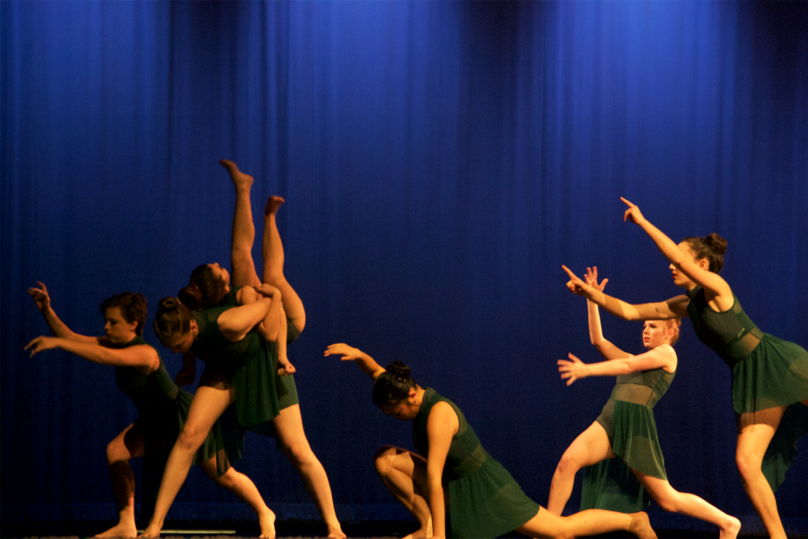 Unbreakable, choreographed by Megan Werner, featured both strong movements and strong emotions.