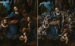 "Secret Da Vinci Sketches Found Underneath ""The Virgin of the Rocks"""
