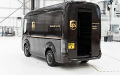 Self-Driving UPS Delivery Trucks