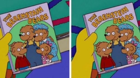 Picture displaying the actual title of the children's series (left) versus the one commonly remembered by people (right)