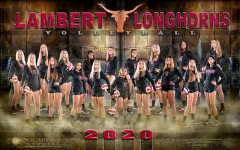 Picture taken from Lambert Volleyball Website