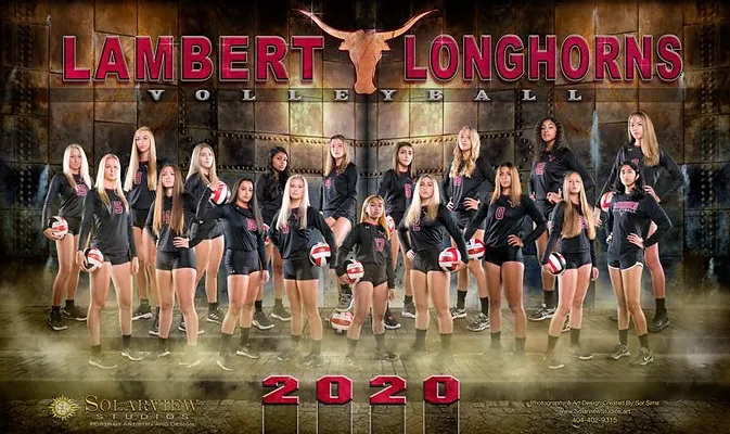 Picture taken from Lambert Volleyball Website