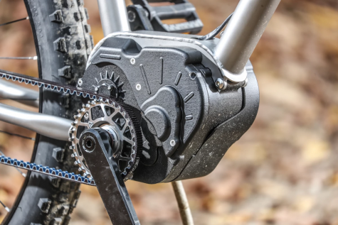 Some rights reserved, Valeo, an electric bike company, shows off a new electric motor for their bikes. https://newatlas.com/bicycles/valeo-ebike-motor-automatic-gearbox/